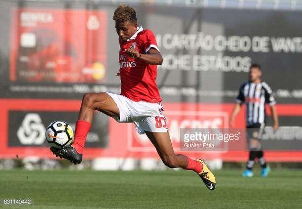 Jovem são-tomense Gedson Fernandes pode estrear pelo Benfica diante do  Belenenses na 2ªfeira cef92ab66e3e5